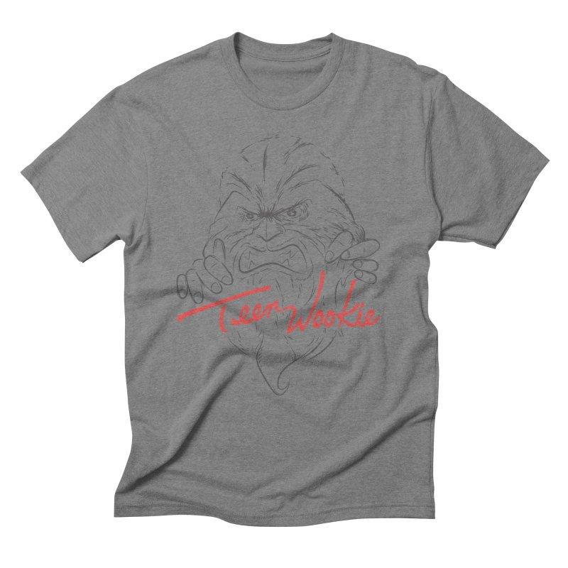 Teen wookie Men's Triblend T-shirt by biticol's Artist Shop