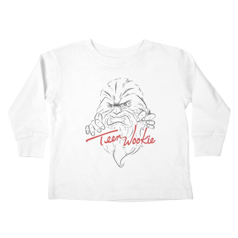 Teen wookie Kids Toddler Longsleeve T-Shirt by biticol's Artist Shop