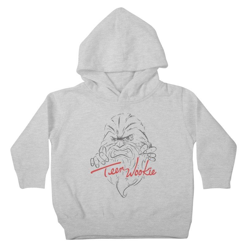 Teen wookie Kids Toddler Pullover Hoody by biticol's Artist Shop