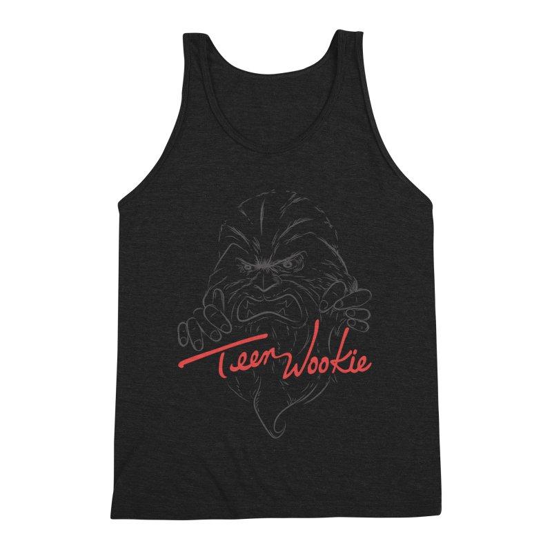 Teen wookie Men's Triblend Tank by biticol's Artist Shop
