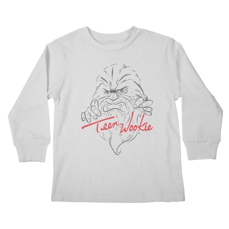 Teen wookie Kids Longsleeve T-Shirt by biticol's Artist Shop