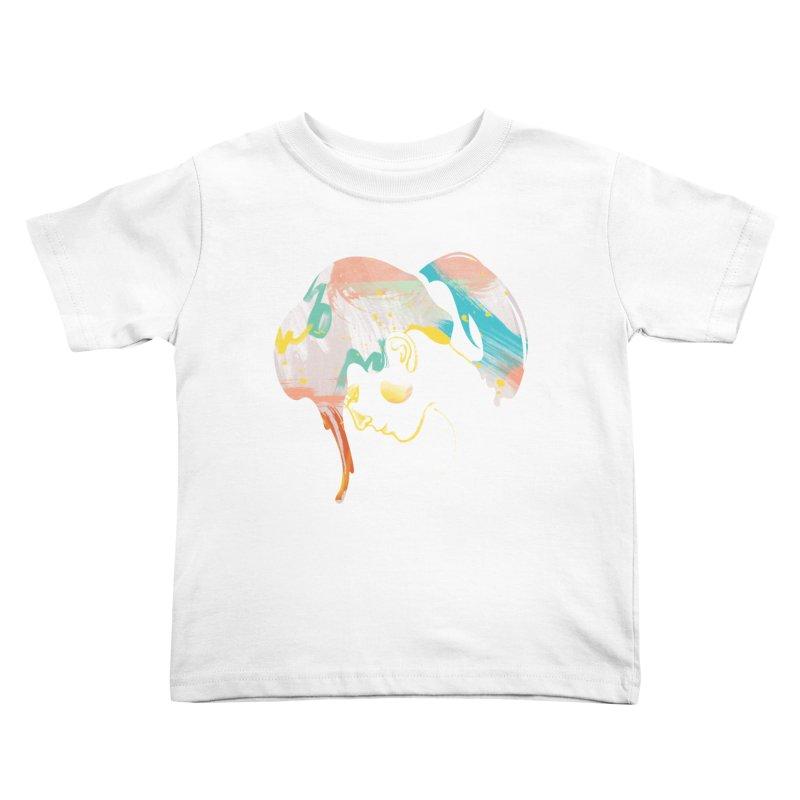 Drip III Kids Toddler T-Shirt by bitsandpcs