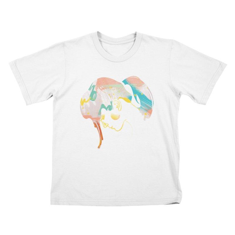 Drip III Kids T-Shirt by bitsandpcs
