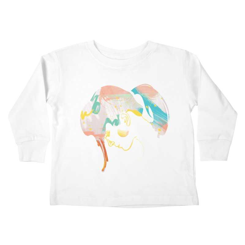Drip III Kids Toddler Longsleeve T-Shirt by bitsandpcs