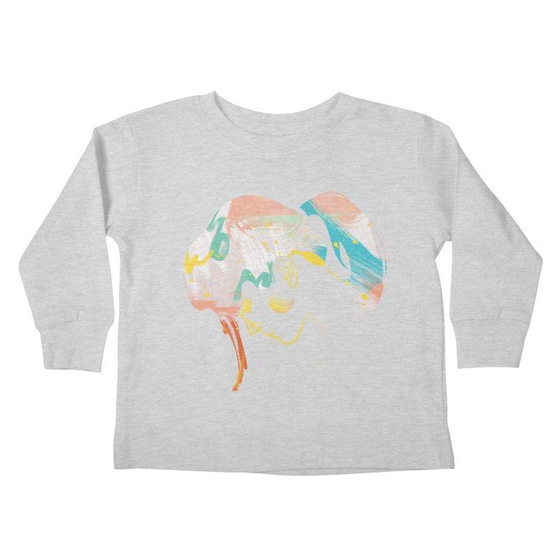 Drip III Kids Toddler Longsleeve T-Shirt by bitsandpcs