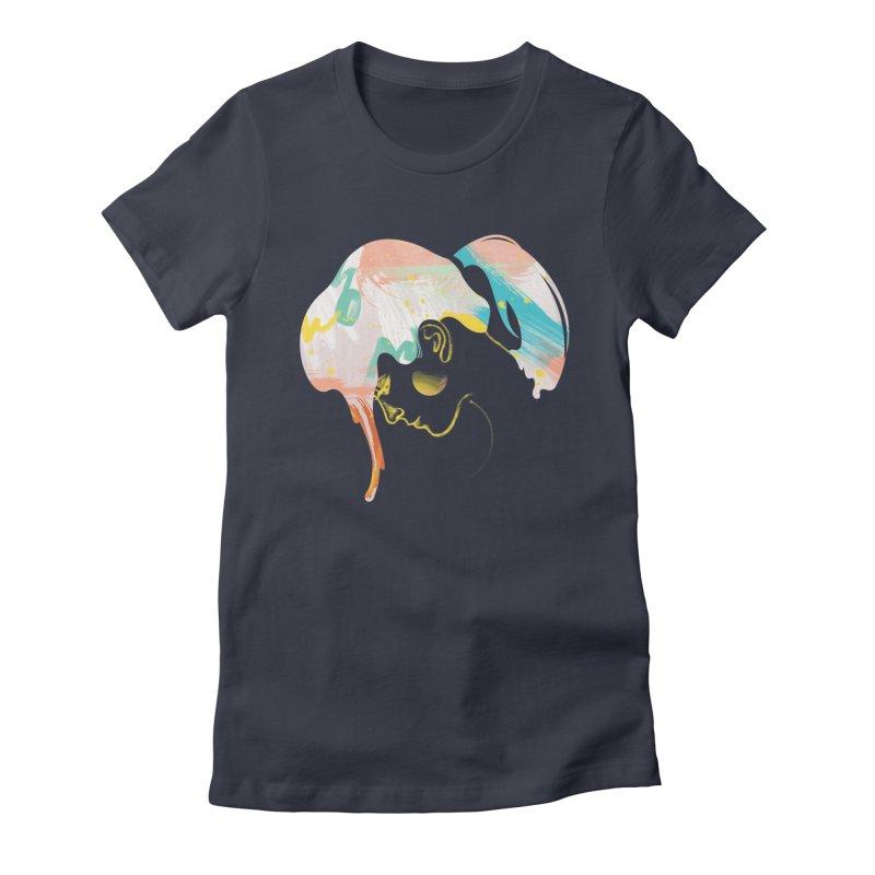 Drip III Women's Fitted T-Shirt by bitsandpcs