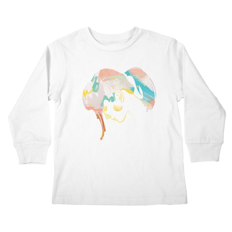 Drip III Kids Longsleeve T-Shirt by bitsandpcs
