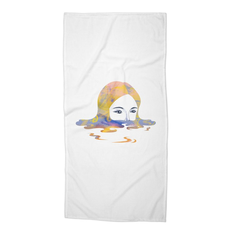 Drip IX Accessories Beach Towel by bitsandpcs
