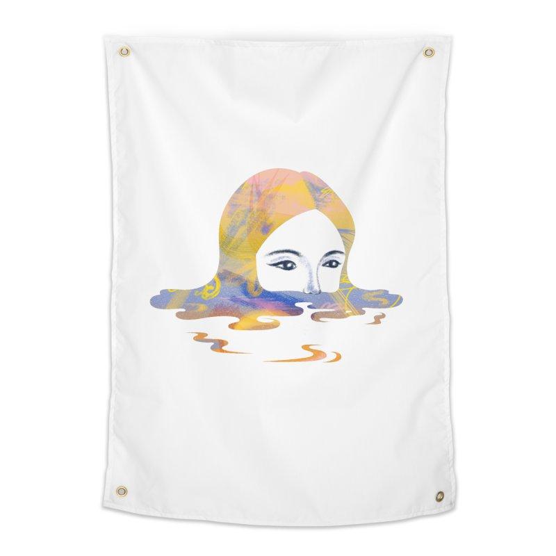 Drip IX Home Tapestry by bitsandpcs