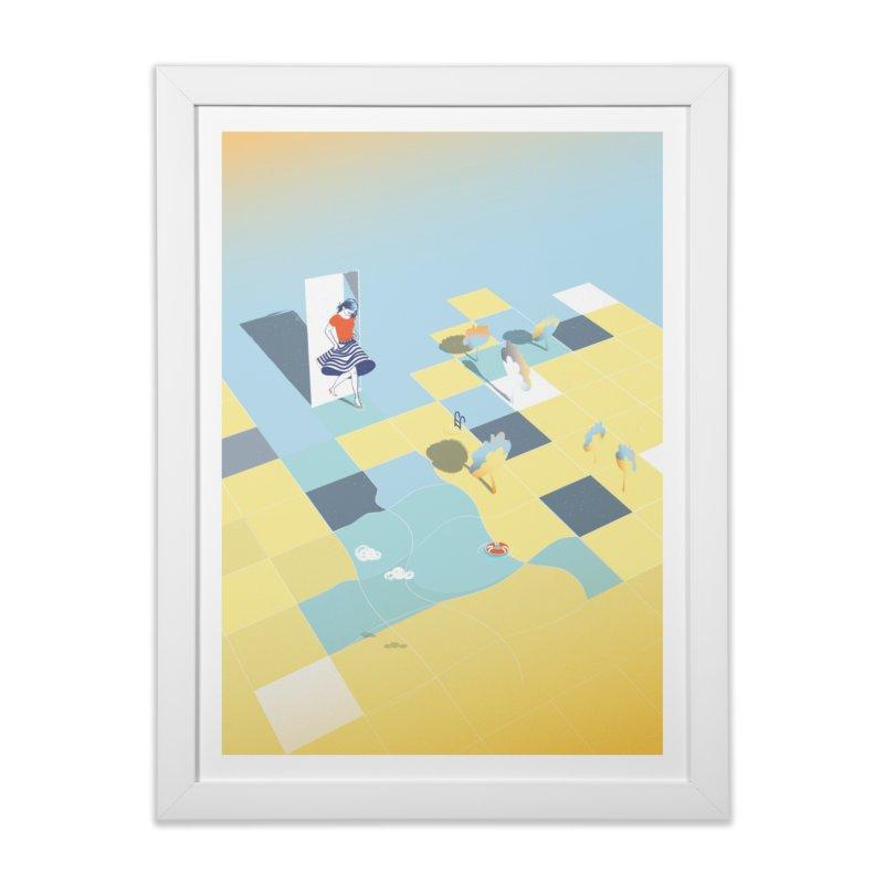 Enter Home Framed Fine Art Print by bitsandpcs