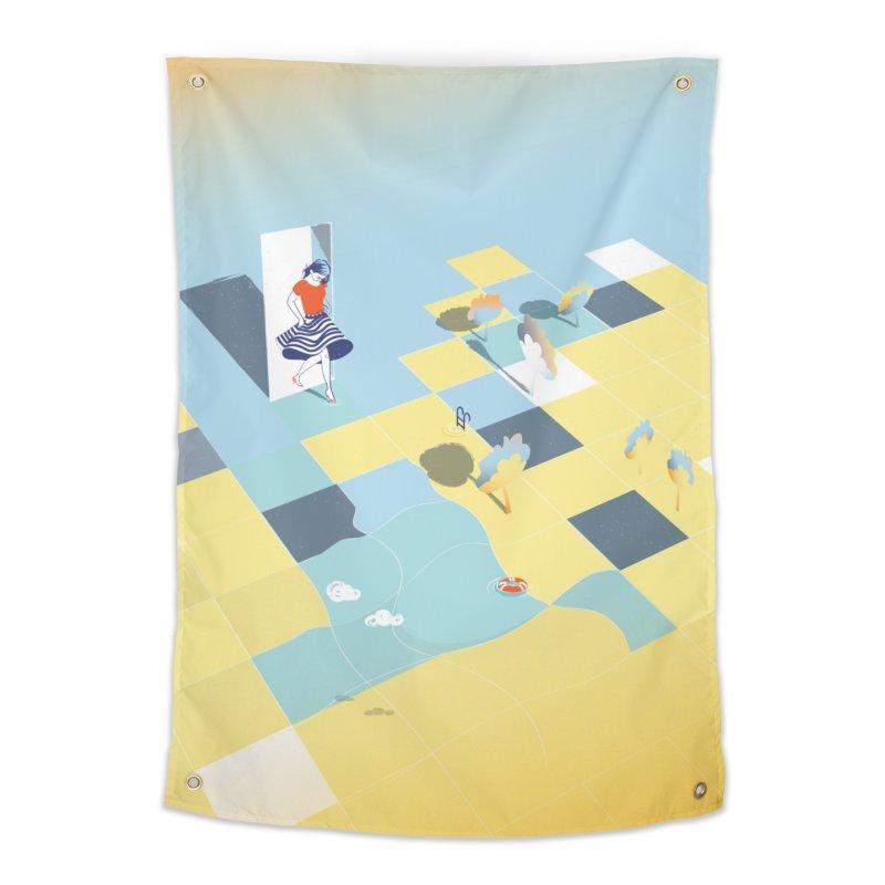 Enter Home Tapestry by bitsandpcs