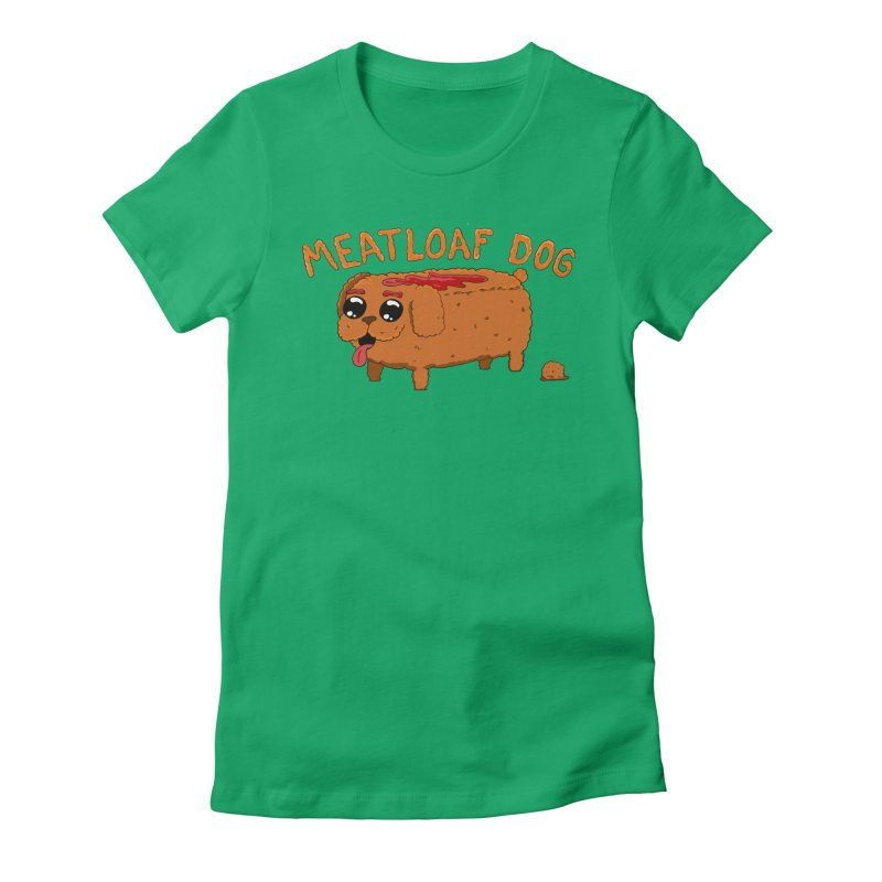 Meatloaf Dog Women's T-Shirt by Bits By Bacon
