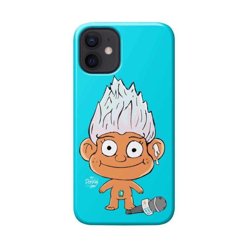 Jizemerald the Troll (Teal Phone) Accessories Phone Case by Bits By Bacon