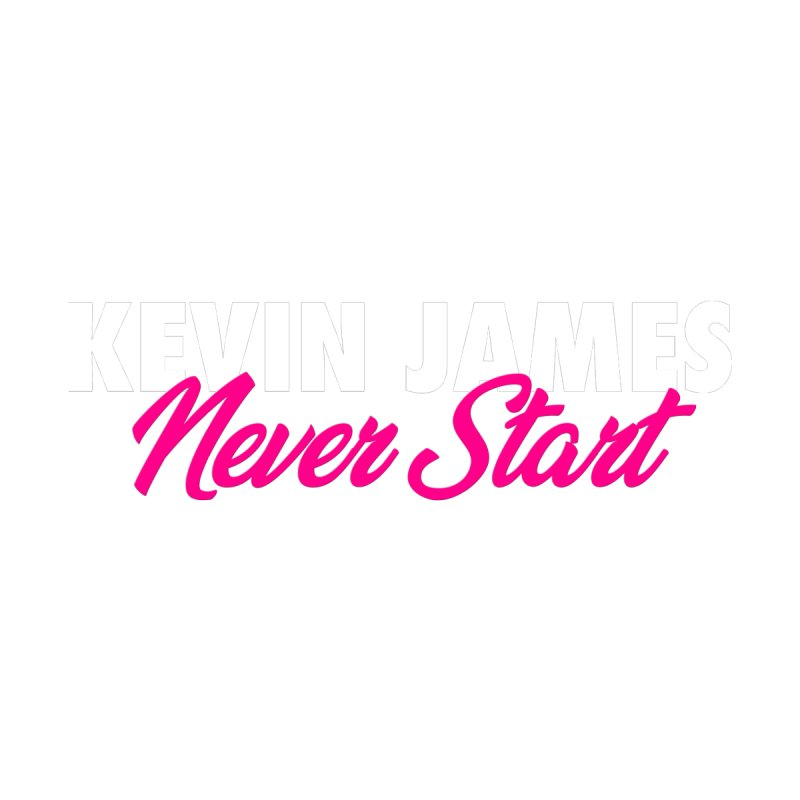 Kevin James Never Start Men's T-Shirt by Bits By Bacon