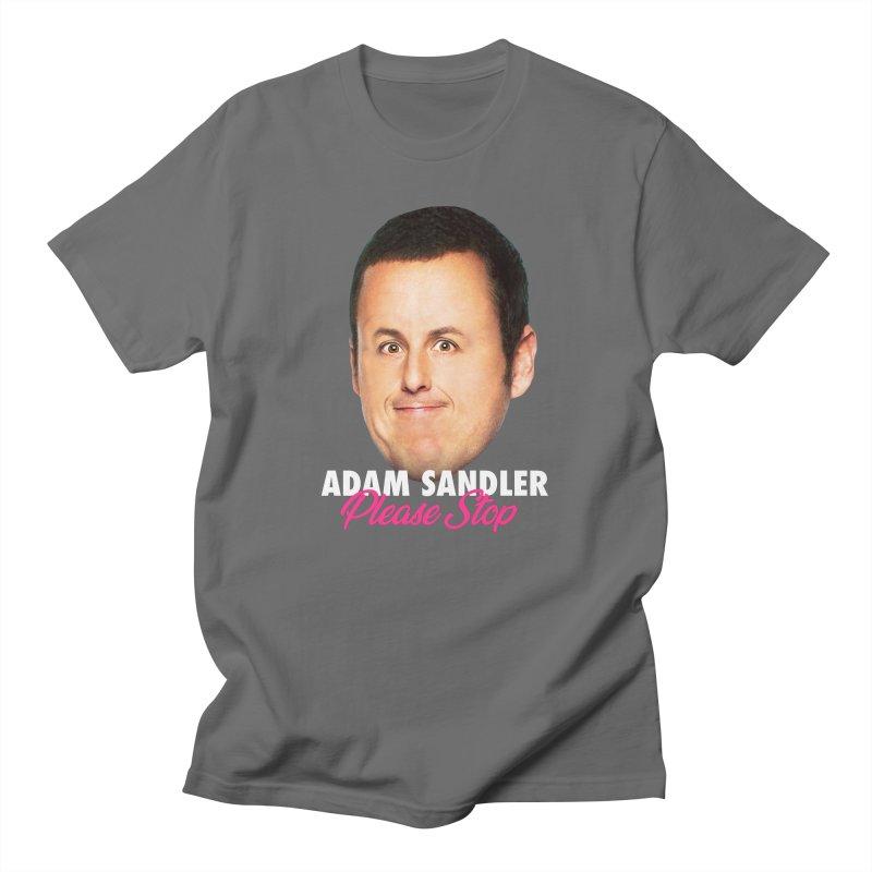 Adam Sandler Please Stop (Big Head) Men's T-Shirt by Bits By Bacon