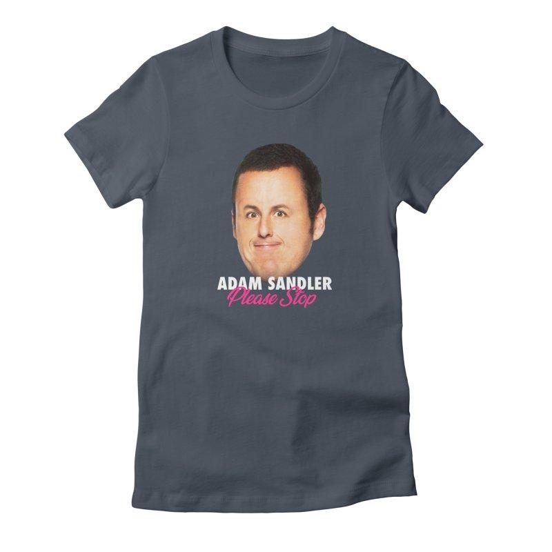 Adam Sandler Please Stop (Big Head) Women's T-Shirt by Bits By Bacon