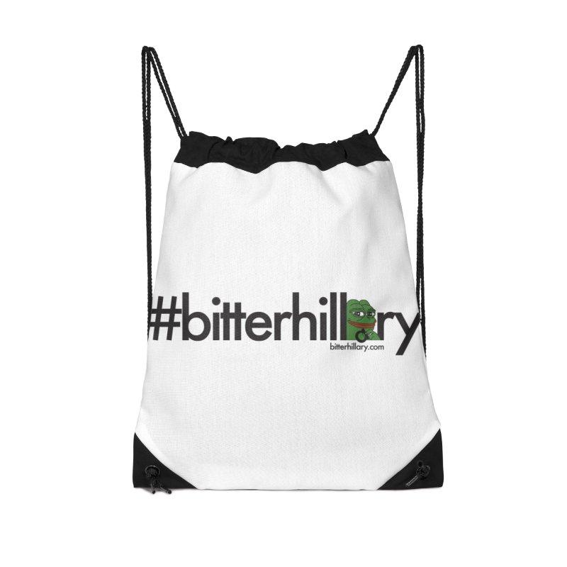#bitterhillary #pepe Accessories Bag by #bitterhillary