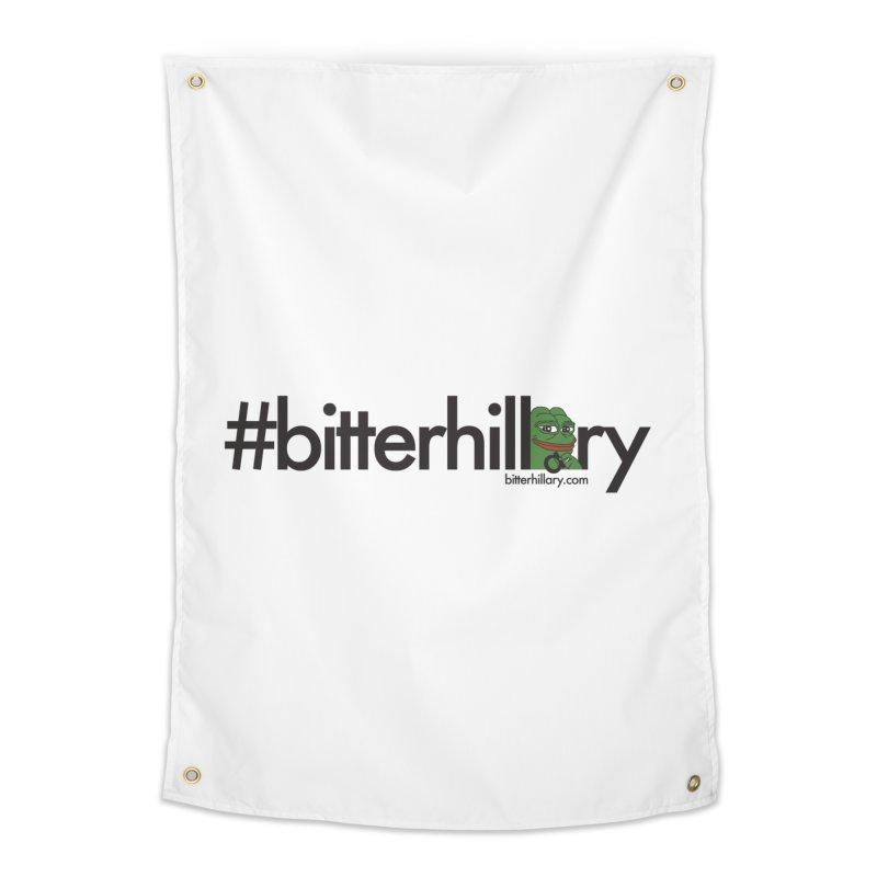 #bitterhillary #pepe Home Tapestry by #bitterhillary