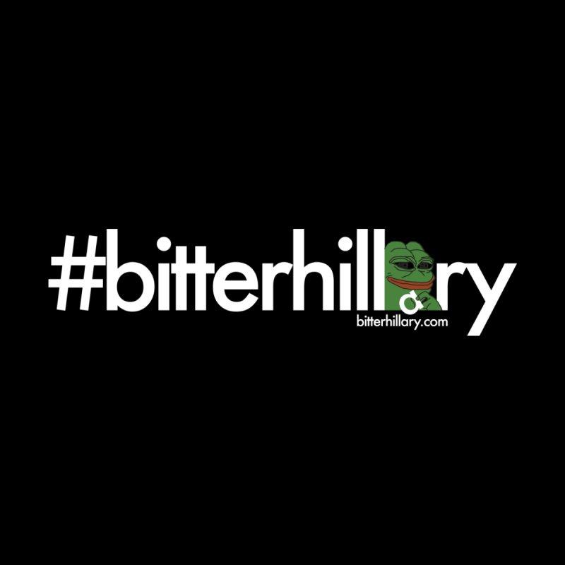 #bitterhillary #pepe Women's Pullover Hoody by #bitterhillary