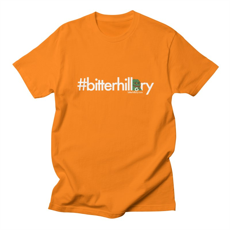 #bitterhillary #pepe Men's Regular T-Shirt by #bitterhillary