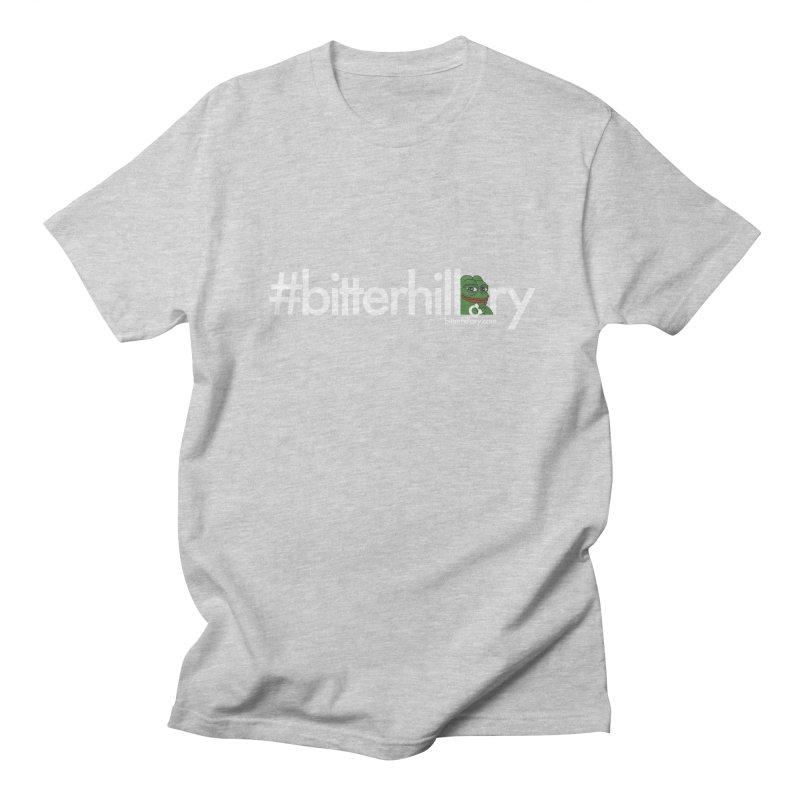 #bitterhillary #pepe Men's T-Shirt by #bitterhillary