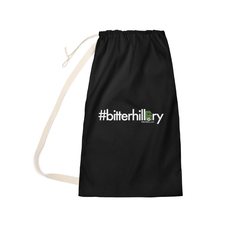 #bitterhillary #pepe Accessories Laundry Bag Bag by #bitterhillary