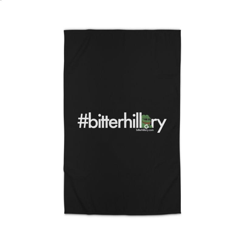 #bitterhillary #pepe Home Rug by #bitterhillary
