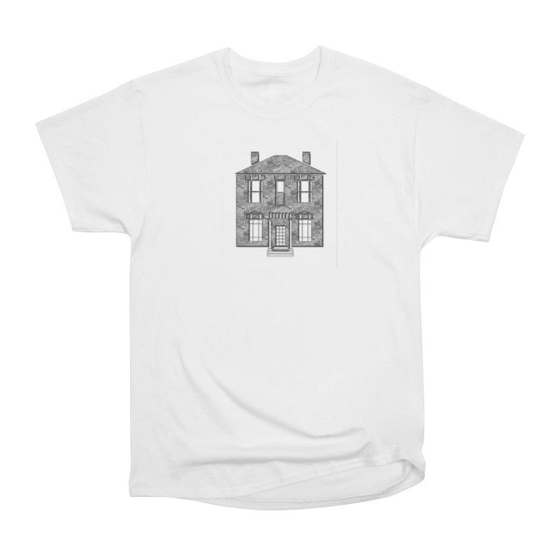 Georgian Mansion Women's Heavyweight Unisex T-Shirt by BIZGEN AUSTRALIA