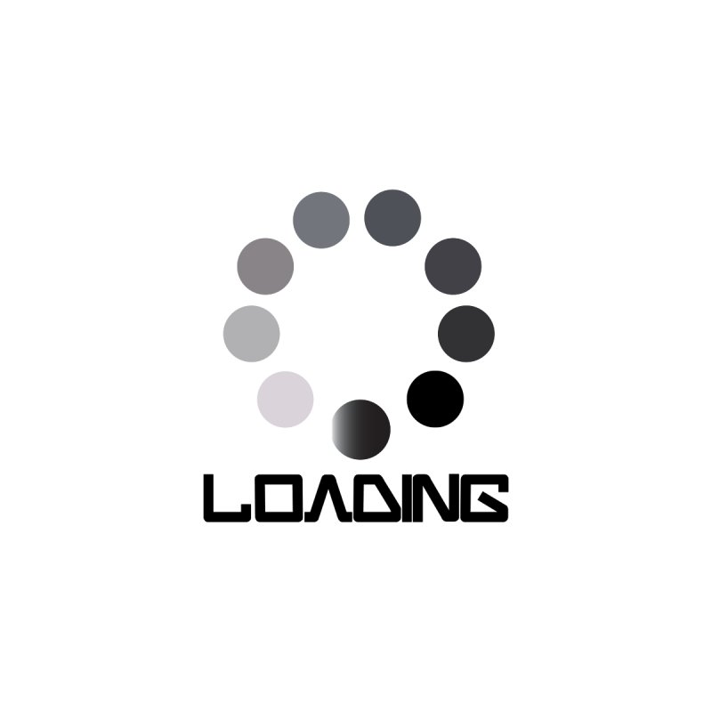 Image is of a 'Loading file' design  Women's T-Shirt by BIZGEN AUSTRALIA