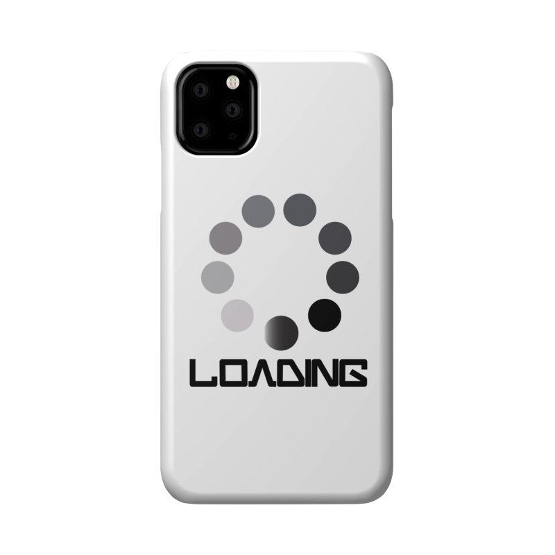Image is of a 'Loading file' design  Accessories Phone Case by BIZGEN AUSTRALIA