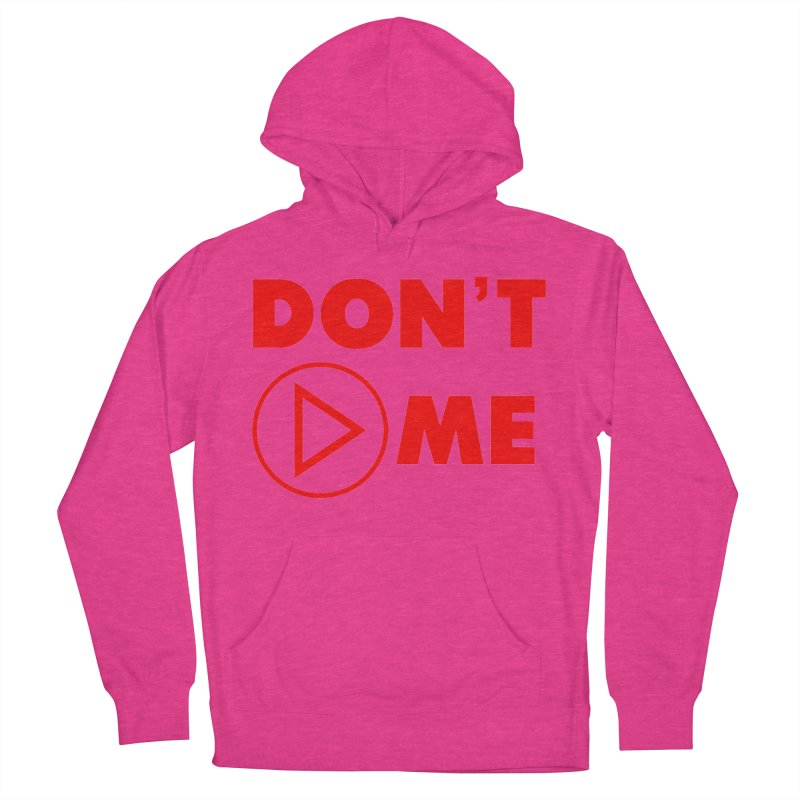 Don't play me! Men's French Terry Pullover Hoody by BIZGEN AUSTRALIA