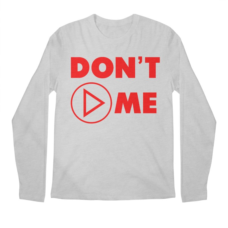 Don't play me! Men's Regular Longsleeve T-Shirt by BIZGEN AUSTRALIA