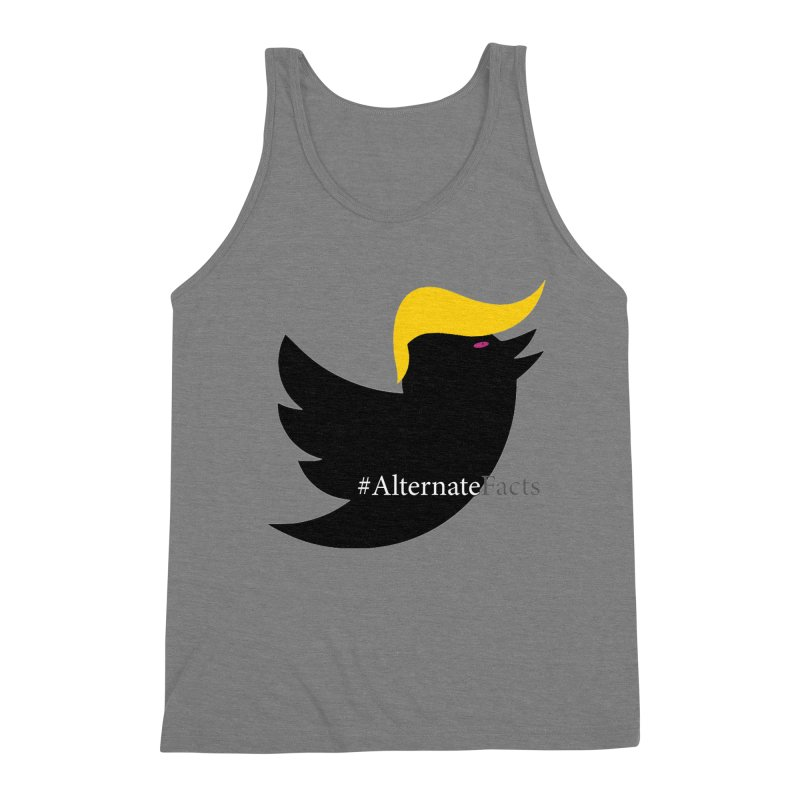 Alternate Facts by TWUMP aka POTUS Men's Triblend Tank by BIZGEN AUSTRALIA