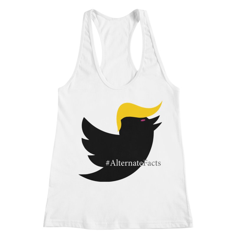 Alternate Facts by TWUMP aka POTUS Women's Racerback Tank by BIZGEN AUSTRALIA