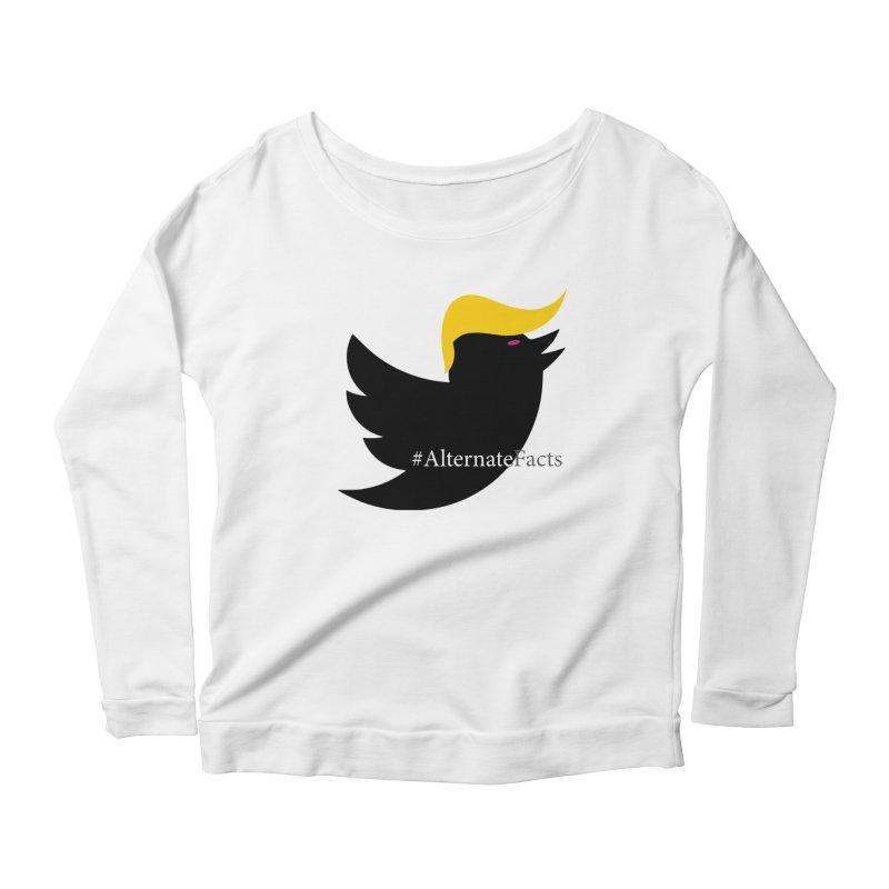 Alternate Facts by TWUMP aka POTUS Women's Scoop Neck Longsleeve T-Shirt by BIZGEN AUSTRALIA