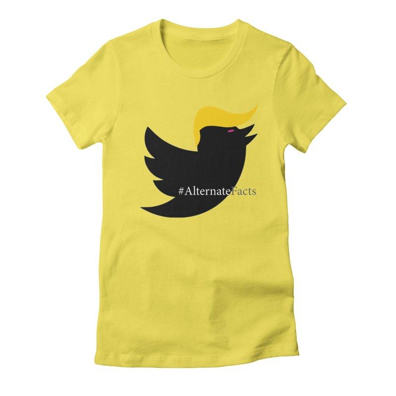 Alternate Facts by TWUMP aka POTUS Women's T-Shirt by BIZGEN AUSTRALIA