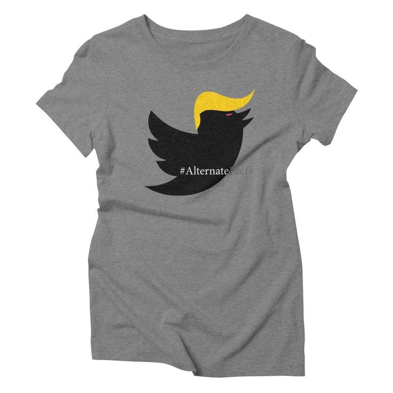 Alternate Facts by TWUMP aka POTUS Women's Triblend T-Shirt by BIZGEN AUSTRALIA
