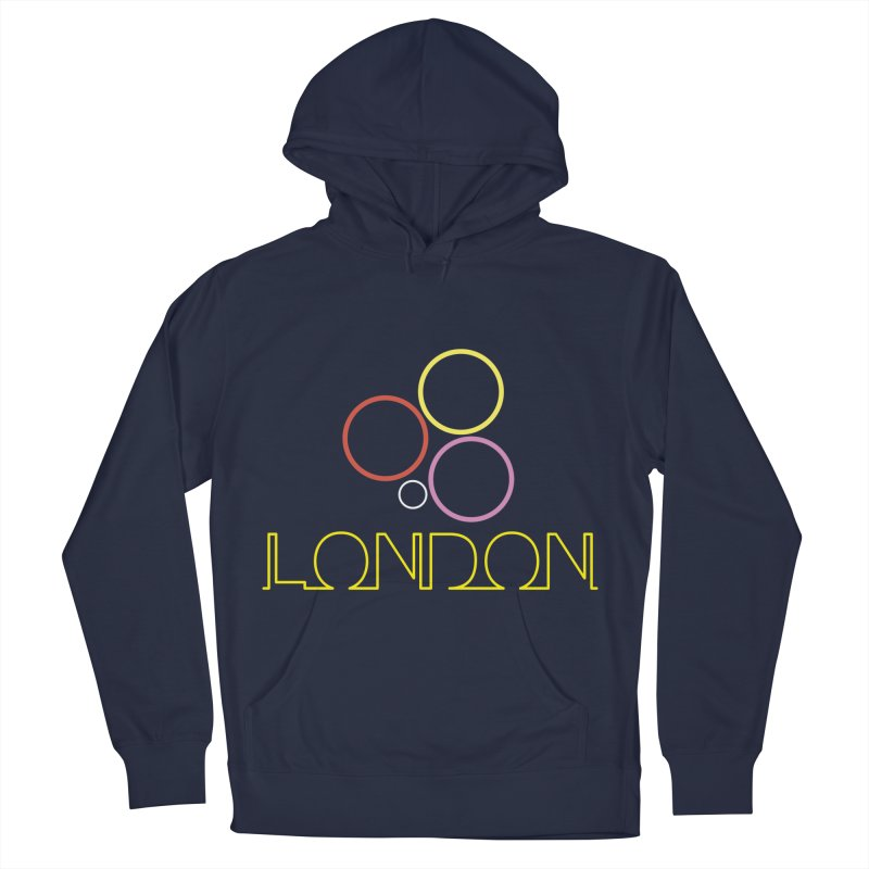 LONDON TOWN Men's French Terry Pullover Hoody by BIZGEN AUSTRALIA