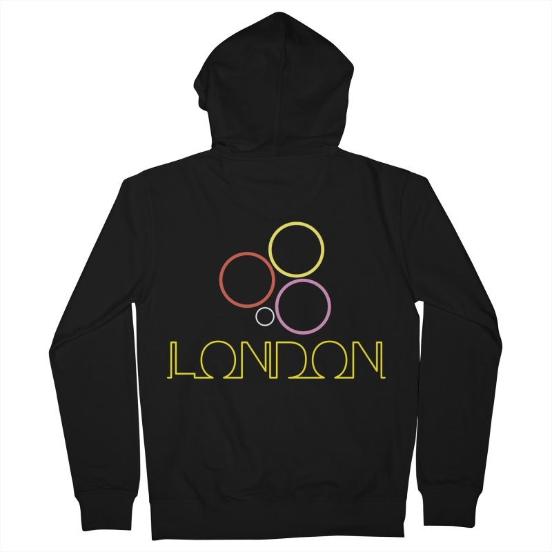 LONDON TOWN Men's French Terry Zip-Up Hoody by BIZGEN AUSTRALIA