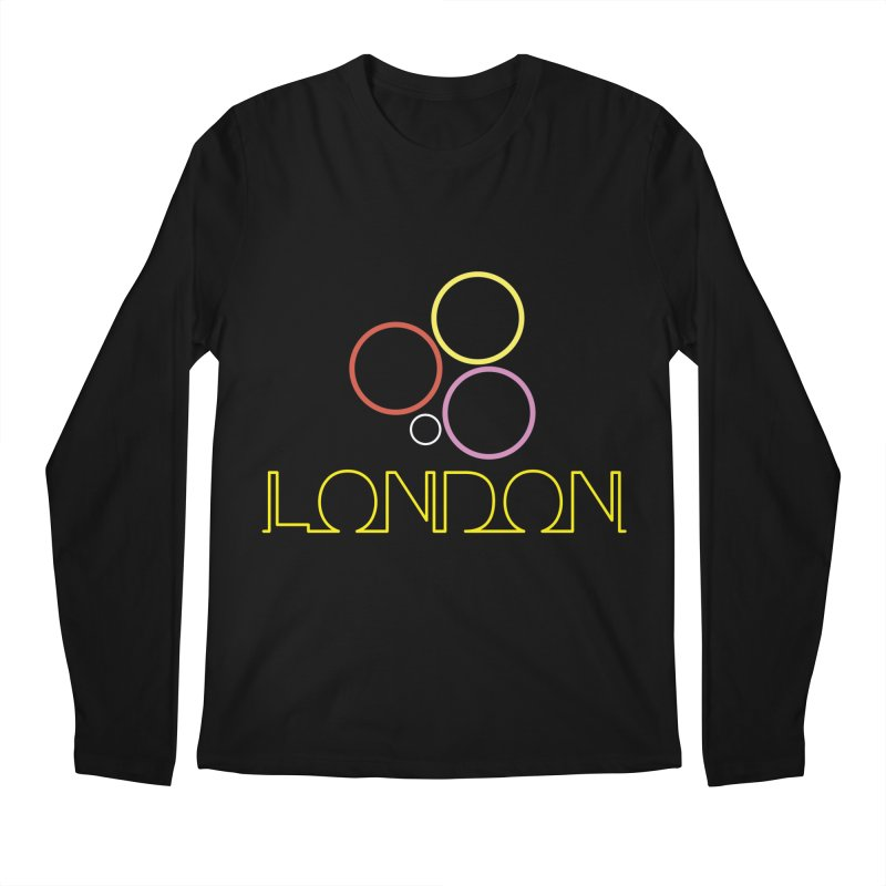 LONDON TOWN Men's Regular Longsleeve T-Shirt by BIZGEN AUSTRALIA