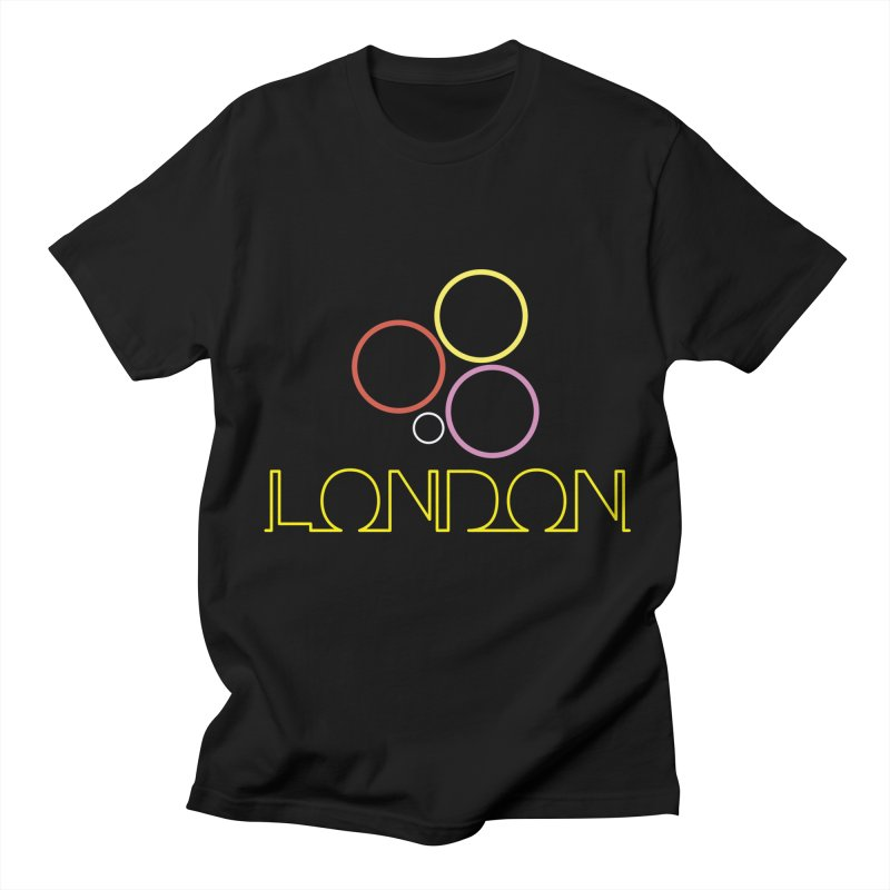 LONDON TOWN Men's Regular T-Shirt by BIZGEN AUSTRALIA