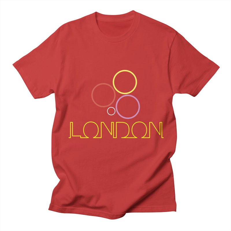 LONDON TOWN Men's Regular T-Shirt by BIZGEN AUSTRALIA
