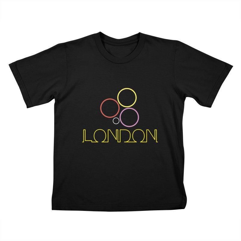 LONDON TOWN Kids T-Shirt by BIZGEN AUSTRALIA
