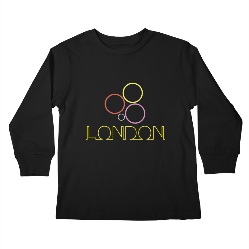 LONDON TOWN Kids Longsleeve T-Shirt by BIZGEN AUSTRALIA