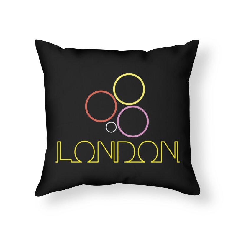 LONDON TOWN Home Throw Pillow by BIZGEN AUSTRALIA