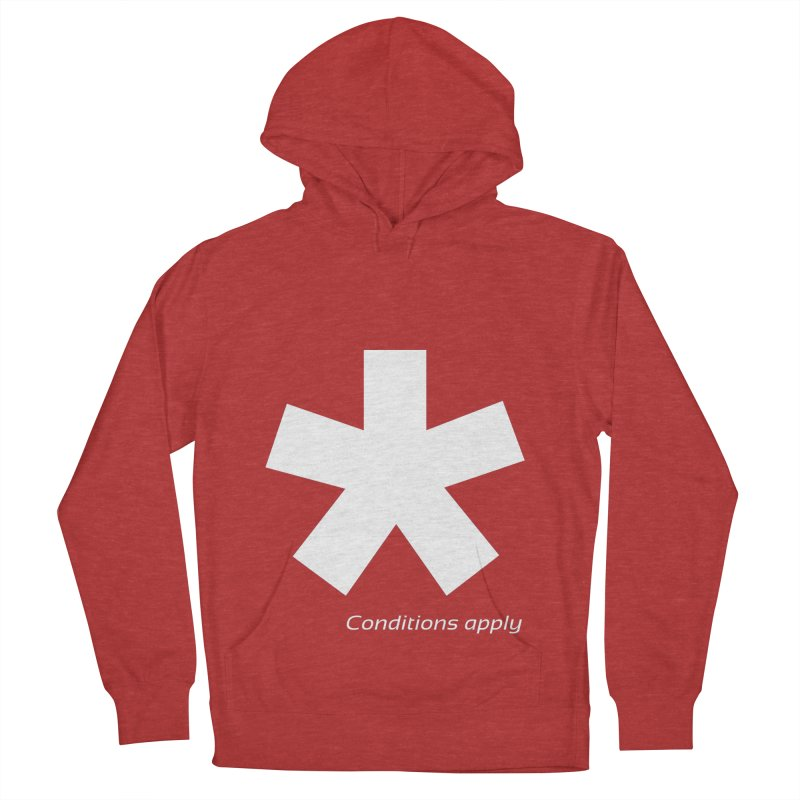 Asterix Conditions Apply Tee Women's French Terry Pullover Hoody by BIZGEN AUSTRALIA
