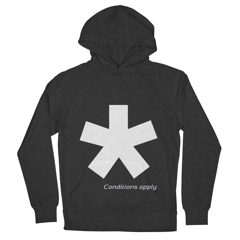 Asterix Conditions Apply Tee Men's French Terry Pullover Hoody by BIZGEN AUSTRALIA
