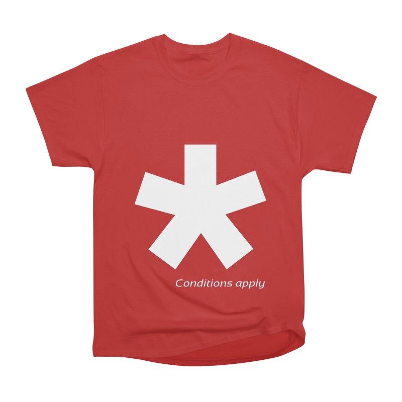 Asterix Conditions Apply Tee Women's T-Shirt by BIZGEN AUSTRALIA