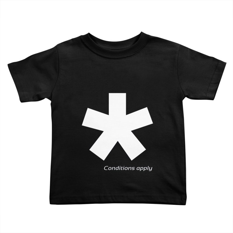 Asterix Conditions Apply Tee Kids Toddler T-Shirt by BIZGEN AUSTRALIA
