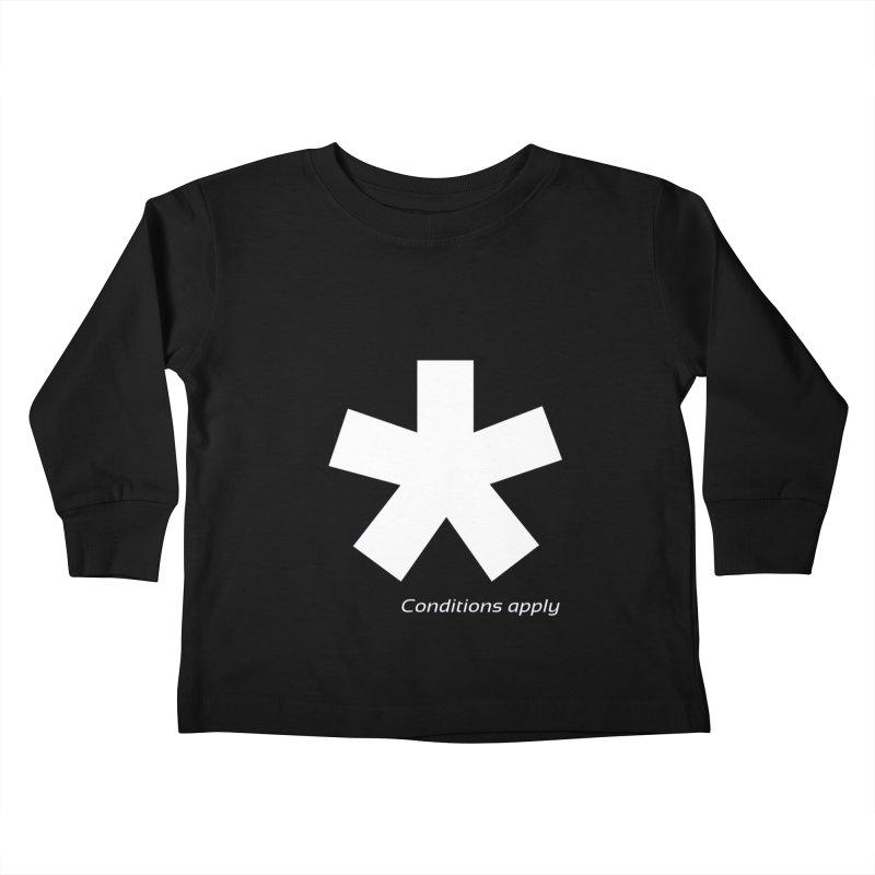 Asterix Conditions Apply Tee Kids Toddler Longsleeve T-Shirt by BIZGEN AUSTRALIA